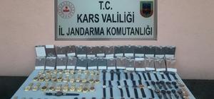 Kağızman'da kaçak kol saatleri ele geçirildi
