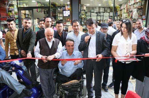Engelli vatandaştan engellilere yönelik kafe