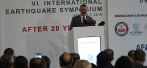 """6. Uluslararası Deprem Sempozyumu başladı Kocaeli Büyükşehir Belediye Başkanı Büyükakın: """"İl afet planlarının muhatapları tarafından çok iyi bir şekilde bilinmediğinin farkındayım"""""""