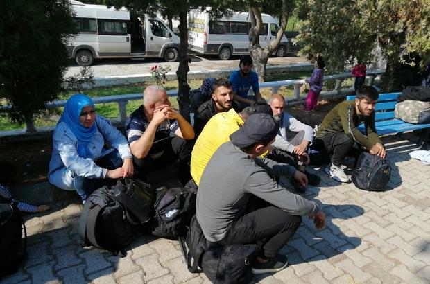 Çanakkale'de 118 mülteci yakalandı