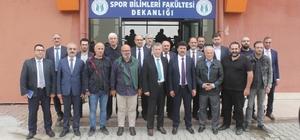 """Rektör Sarıbıyık üniversitenin bir yılını değerlendirdi Sakarya Uygulamalı Bilimler Üniversitesi Rektörü Mehmet Sarıbıyık: """"Biz nokta atışları yapıyoruz"""""""