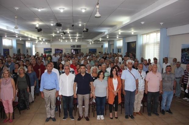 CHP Kuşadası ilçe örgütü genişletilmiş toplantıda buluştu
