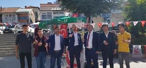 Başkan Yıldız Bünyan'da Açılan Yeniden Reha Partisi Standını Ziyaret Etti