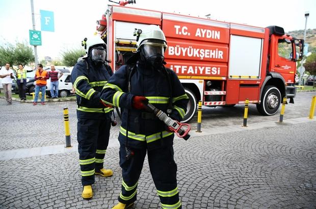 Aydın'ın ateş savaşçıları Türkiye'de yangınlara müdahalede en hızlı ikinci ekip oldu