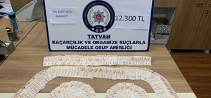Bitlis'te sahte para operasyonu