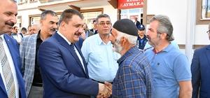 """Malatya Büyükşehir Belediye Başkanı Selahattin Gürkan, Kuluncak'ı ziyaret etti Başkan Selahattin Gürkan: """"Kuluncak'ta verdiğimiz fotoğraf, birlik ve beraberliğin fotoğrafıdır"""""""