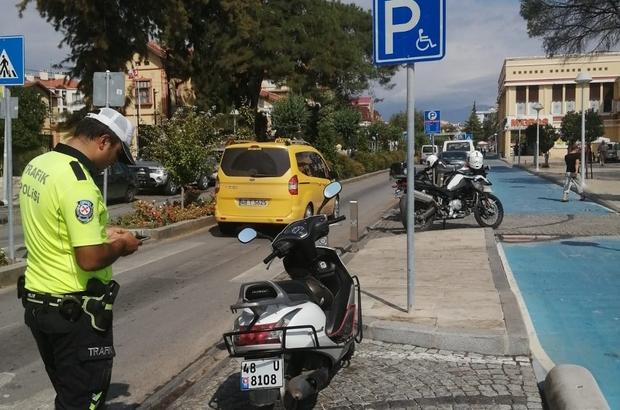 Milas'ta hatalı parklar cezalandırılıyor