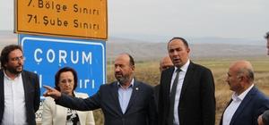 Çorum-İskilip karayolunda önemli gelişme Haramidere-Seydim bölgesindeki 9 kilometrelik yol trafiğe açılacak