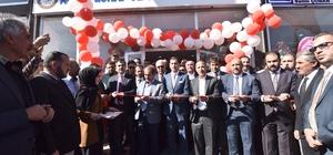 Ahlat Esnaf ve Sanatkarlar Odasının yeni hizmet binası açıldı