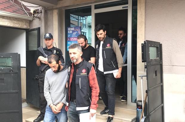 Mustafakemalpaşa'da 4 kilogram uyuşturucu ele geçirildi