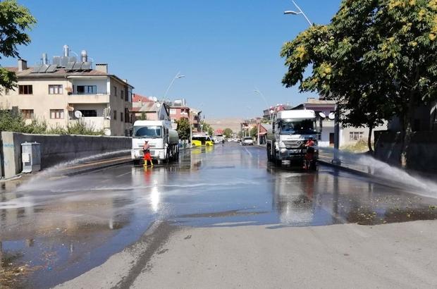 Van Büyükşehir Belediyesinden temizlik seferberliği