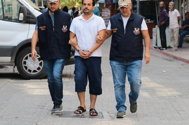 DEAŞ'ın elektrik mühendisi tutuklandı Suriye'de Telabyad Belediyesinde DEAŞ'ın idari işlerini takip eden elektrik mühendisi Adana'da yakalandı