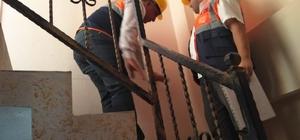 Deprem sonrası 29 binada hasar tespit çalışması yapıldı 28 binada problem yok