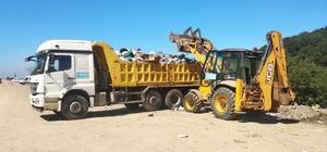 Kocaeli'de sahillerden 835 ton çöp toplandı