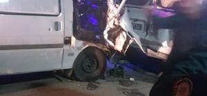 Rize'de trafik kazası: 10 yaralı