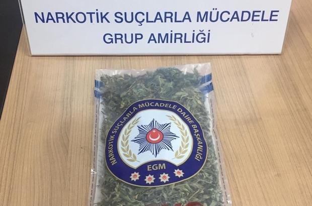 Kuşadası polisinden uyuşturucu operasyonu