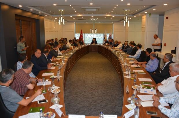 Aydın ili Oda Borsaları Güçbirliği Toplantısı AYTO'da yapıldı