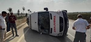 Adana'da ambulans ile otomobil çarpıştı: 1'i bebek 4 yaralı