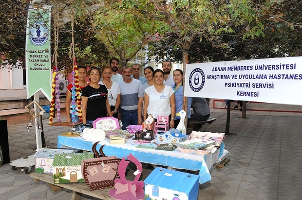 Psikiyatri Servisi Hastalarının Ürünleri ile Kermes Düzenlendi