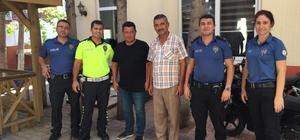 """Antalya'nın tüm ilçelerinde """"Eylül Ayı Huzur Toplantısı"""" yapıldı Vatandaşlar araç kullanırken sigara içmeme konusunda uyarıldı"""