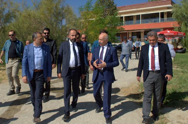 Bakan Yardımcısı Dursun'dan Rektör Şevli'ye ziyaret