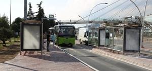 Kent trafiğini rahatlatacak cep durak trafiğe açıldı