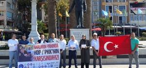 Diyarbakırlı annelere Bandırma'dan destek Bandırmalı sivil toplum kuruluşlarından Diyarbakırlı annelere destek