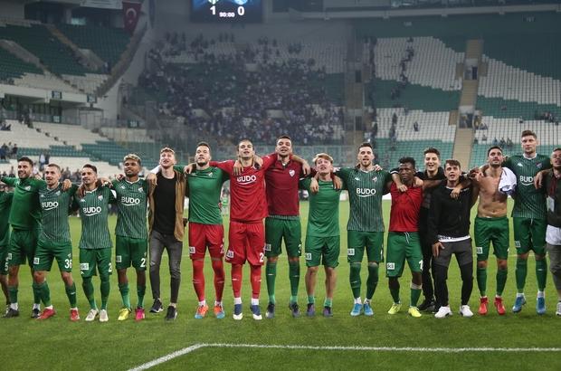 TFF 1. Lig: Bursaspor: 1 - Erzurumspor: 0