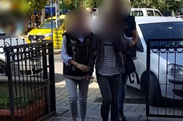 Uyuşturucu satıcısı kadın yakalandı