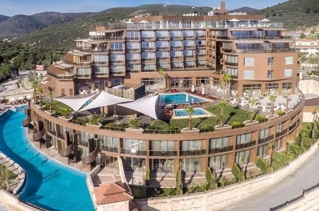 Kuşadası'nda ünlü 5 yıldızlı otel icradan satışa çıkarıldı
