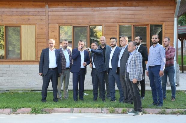 AK Parti heyeti, Nevşehir Belediyesi çalışma alanlarını inceledi