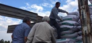 Afetten zarar gören 365 çiftçiye sertifikalı tohum dağıtıldı