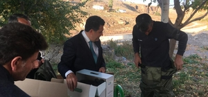 İzmir Büyükşehir Belediyesi'nden Ardahan Belediye'sine malzeme desteği