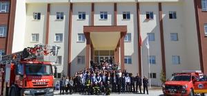 Bünyan Meslek Yüksekokulu'nda yangın tatbikatı yapıldı