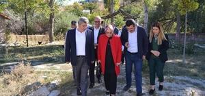 Milletvekili Nergis ve Başkan Altun KAÇEM'i ziyaret etti