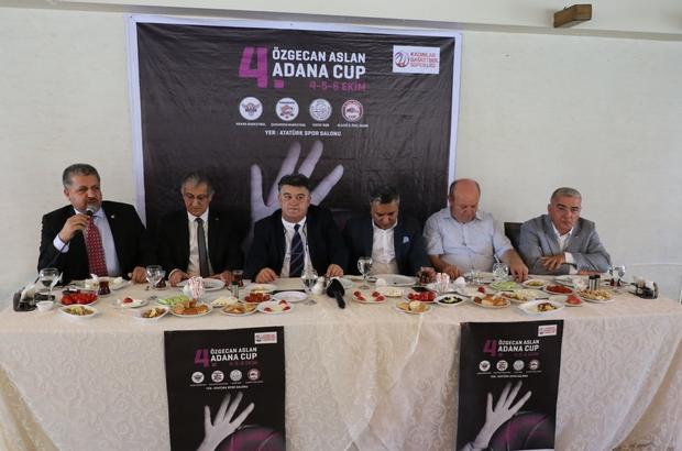 4. Özgecan Aslan Kadın Basketbol Turnuvası 4 Ekim'de başlıyor
