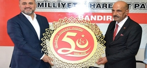 AK Parti'den MHP'ye 50'nci yıl ziyareti