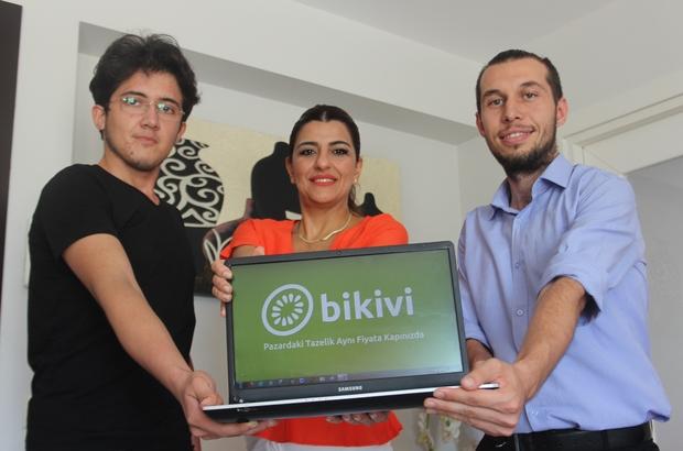 Pazar çilesine son Üç gencin, Adanalıların pazar  alışverişini yapmaya talip olduğu bikivi.com adlı e-ticaret sitesi faaliyete geçti Girişimcilik Ekosistemi Derneği (GED) tarafından desteklenen proje ilk ayında 500'e yakın ailenin halden kapıya meyve sebze ihtiyacını karşıladı