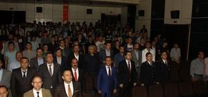 """Hizan'da """"Şehitlere saygı ve gazilik"""" konferansı düzenlendi"""