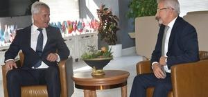 """Başkan Güney; """"Nilüfer'in bilgi ve deneyimlerinden yararlanmak istiyoruz"""""""