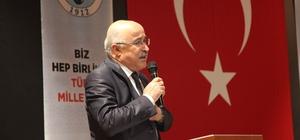 Türk Ocakları Genel Başkanı Prof. Dr. Mehmet Öz Ahlat'ta