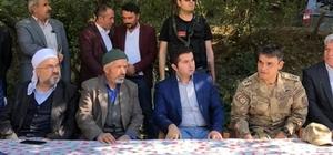 Hizan'da barış töreni Husumetli köylüler yapılan törenle barıştı