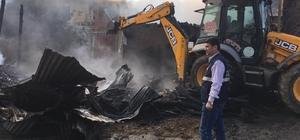 Dursunbey Çakırca'da yangın