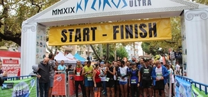 Kyzikos Ultra Maratonu sona erdi Erkeklerde Şen ve Düztaş aynı sürede yarışı bitirdi