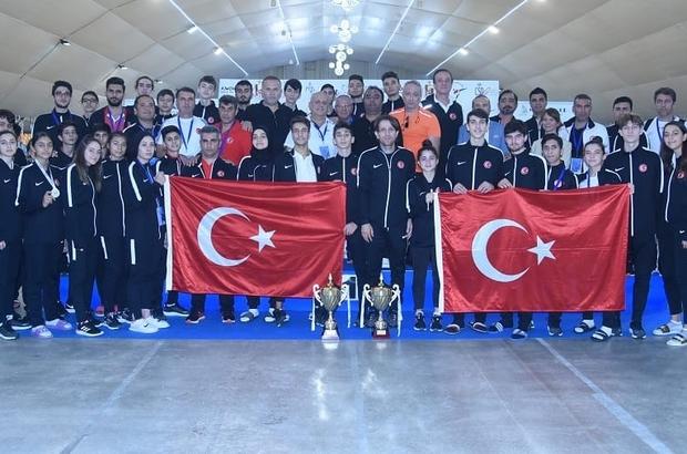Tekvandoda Genç Milli Takımı Avrupa ikincisi