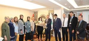Başkan Palancıoğlu belediye mimarlarının günlerini kutladı