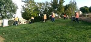 Büyükşehir Belediyesi peygamber kabirlerinde temizlik seferberliği başlattı