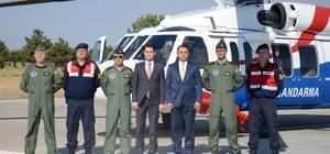 İl Jandarma Komutanlığı havadan trafik denetimi gerçekleştirdi Kurallara uymayan 19 araca toplam 15 bin 493 lira ceza kesildi