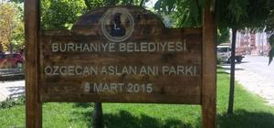 Burhaniye'de parklar yenileniyor