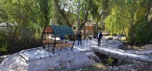 Bünyan Belediyesi Topsöğüt Mahallesinde Dinlence Alanı Yapıyor